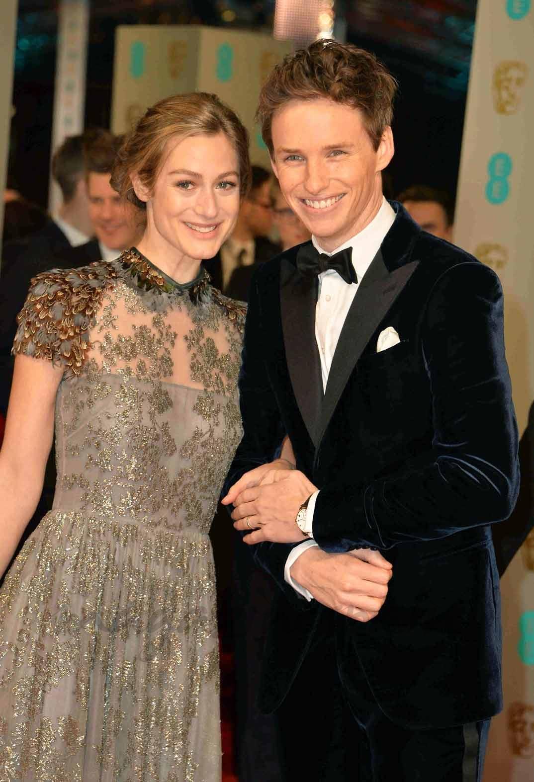 Eddie Redmayne y su esposa Hannah Bagshawe. Foto/magazinespain.com