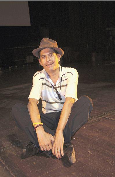 Luis Harold Agurto, dramaturgo con más obras escritas en escena.LAPRENSA/ARNULFOAGÜERO