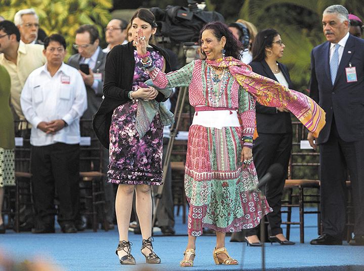 Rosario Murillo desde este 10 de enero es vicepresidenta designada y se colocó como la sucesora directa a la Presidencia si su esposo, Daniel Ortega, se ve imposibilitado de seguir en el cargo. LA PRENSA/EFE