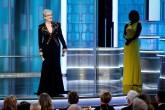 Prensa extranjera de Hollywood felicita a Streep por su discurso