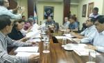 La nueva junta directiva del parlamento nacional  sostuvo su primera reunión este jueves para definir la conformación de las comisiones parlamentarias. LA PRENSA/L. NAVAS  LA PRENSA/L. NAVAS
