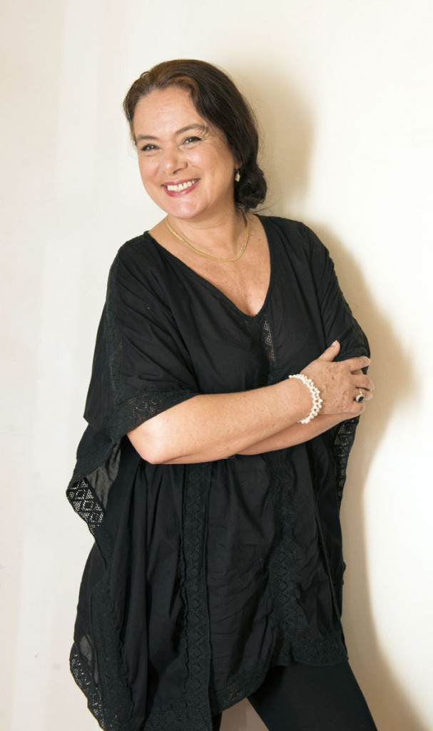 Florence Jaugey, cineasta. LA PRENSA / Uriel Molina.