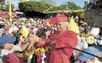 """""""Mi mayor alegría en mi vida ministerial es el cariño de la gente"""", asegura el cardenal Leopoldo Brenes, arzobispo de Managua. LA PRENSA/ U. MOLINA"""