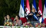 El presidente designado por el Consejo Supremo Electoral (CSE), Daniel Ortega, durante su discurso en el acto de toma de posesión el pasado 10 de enero. LA PRENSA/OSCAR NAVARRETE