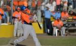 Donell Linares encabezó la ofensiva  de los Gigantes de Rivas este domingo. LA PRENSA/Jader Flores LA PRENSA/Jader Flores