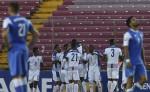 Panameños celebran el gol de Miller. LAPRENSA/ AFP