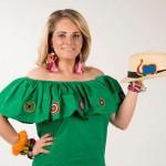 Annie Chajin alista sus maletas para traer sus creaciones a Nicaragua